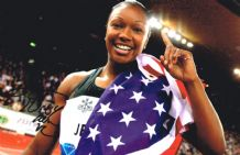 Carmelita Jeter Autograph Signed Photo
